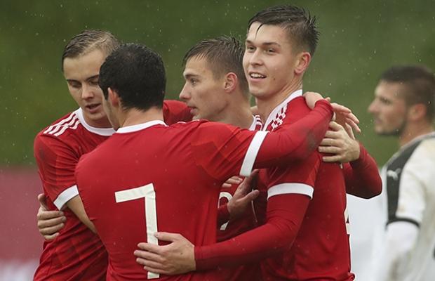 Молодежная сборная РФ обыграла австрийских сверстников
